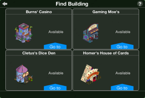 TSTO Casino Find Building Complete