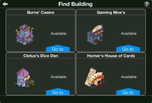 TSTO Casino Find Building Complete