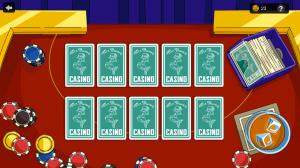 TSTO Casino Homer's House of Cards